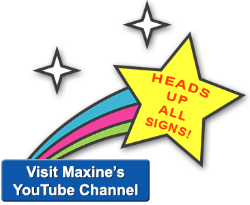 Visit Maxine's YouTube channel!