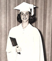 Getting Her Diploma